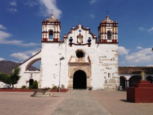Teotitlan's 17th century church