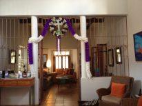 Ready for Holy Week at Casa de los Milagros