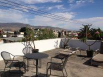 The roof terrace as Casa de los Milagros