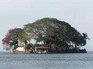 One of the Las Isletas islands
