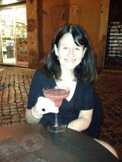 Drinking my favourite cocktail in one of my favourite cities, Rome.