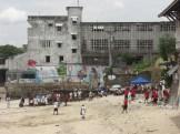 Football on the 'beach'