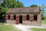 One of the Boone Hall slave cabins