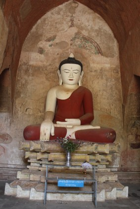 One of the Buddhas at Sulamani Pahto
