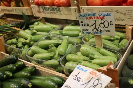 Lovely fat courgettes!