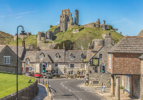 Corfe Castle and Village