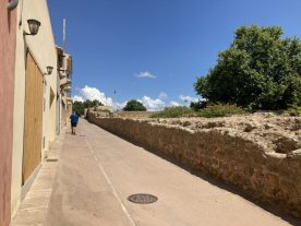 Alcudia old town walls