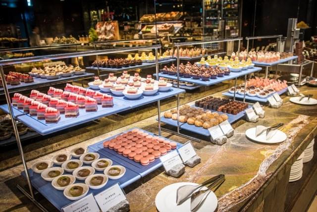 君品酒店雲軒西餐廳擁有多種甜點,更在兒童節打造雲軒童樂會