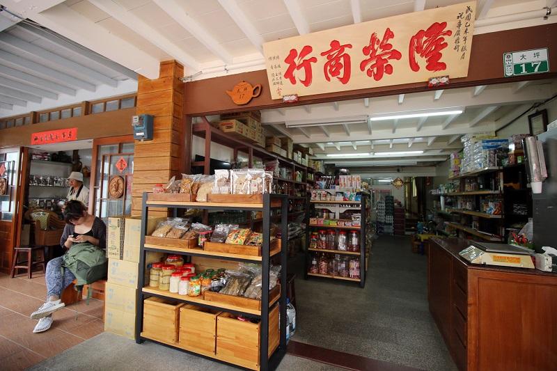 05-「隆榮商店」的建築是檜木打造,還是文人張文環的故居