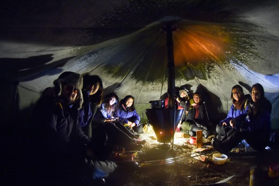 306期,極光,雪橇,哈士奇