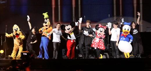 五月天,香港,迪士尼,米老鼠,好朋友