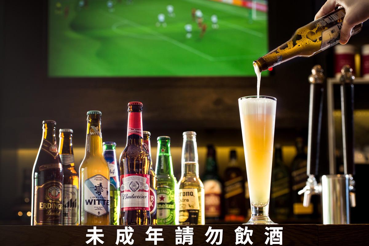 看世足賽就是要配啤酒啊!8國參賽國家啤酒任君挑選