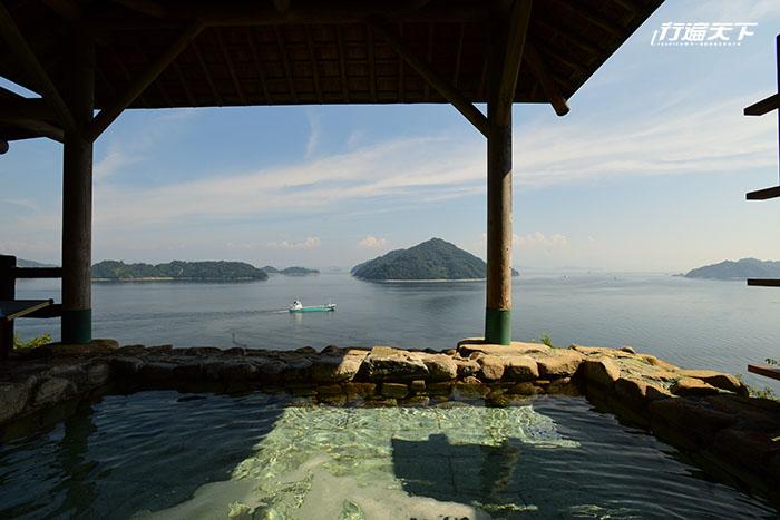 可以遠眺瀨戶內海大橋的溫泉,你有泡過嗎?