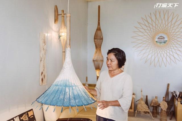 就算生命消失還想要保留 她用編織打造部落之美