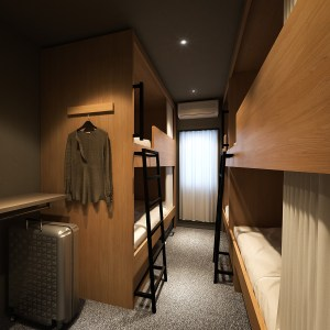 日本上野新青年旅宿,女生也可安心入住