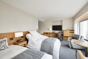 2020東京奧運也有友善旅行,這間飯店提供無障礙客房