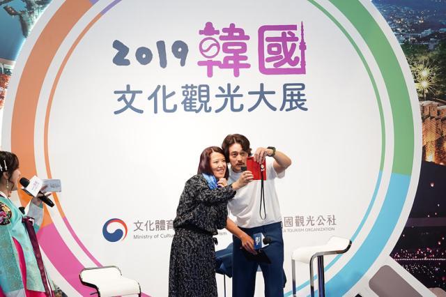 蘇志燮現身ITF,全國最大旅展還有三天