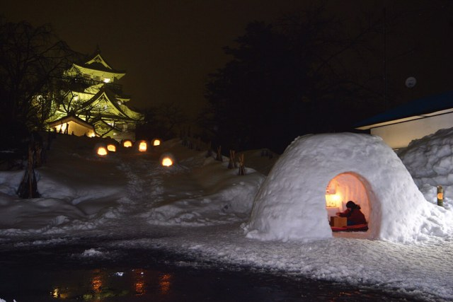 日本冬雪景緻超美,大推東北.信越這7個冬季祭典