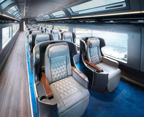 【日本新火車】新開藍寶石列車看海泡湯吃米其林2星
