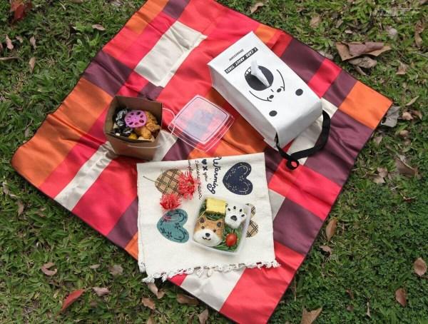 高雄,柴犬飯糰便當,好運私厨南洋餐盒,遠足,野餐
