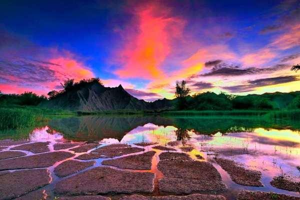 台南,夜遊,景點,夜景,日出