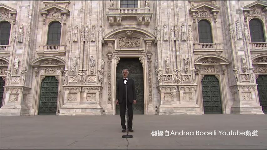 【愛.希望】義大利失明男高音為世界獻上祝福
