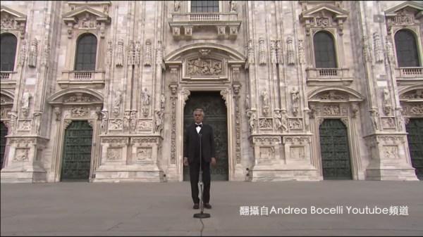 義大利,andrea bocelli,奇異恩典,米蘭大教堂,復活節