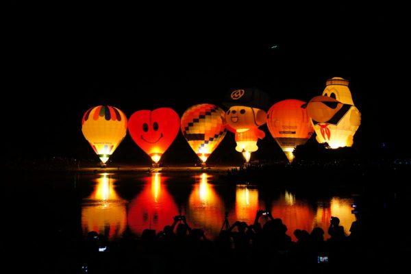 台東,熱氣球,嘉年華,光雕音樂節