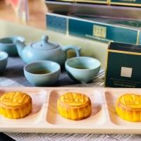 【台北.吃】好神奇 這樣吃半島月餅竟然在口中變奶茶