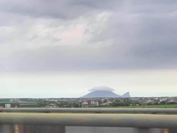 宜蘭,龜山島,龜山戴帽