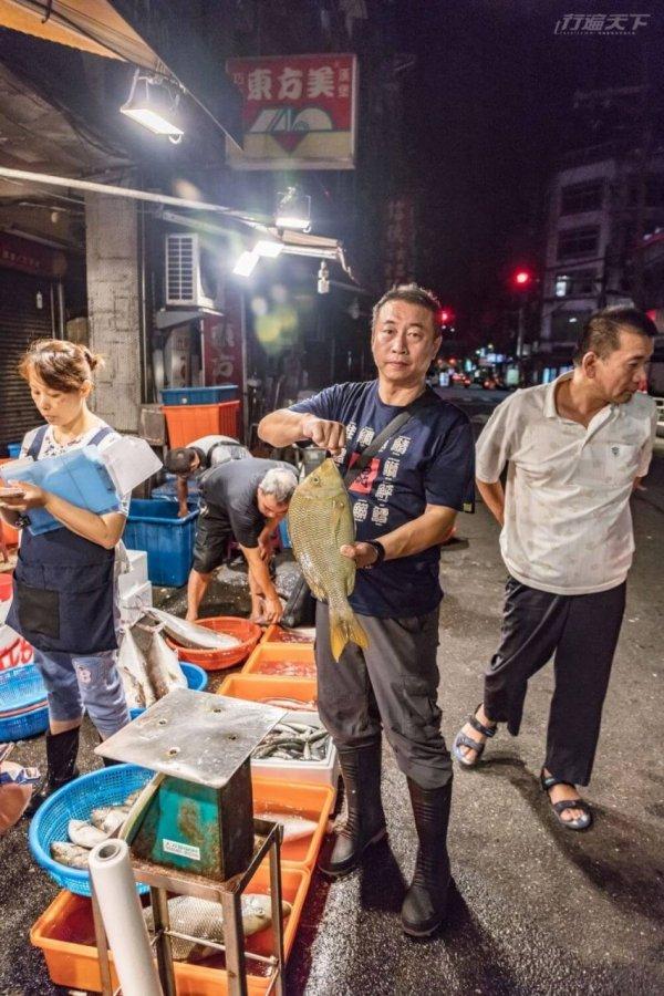 基隆,崁仔頂魚市,漁獲,深夜食堂