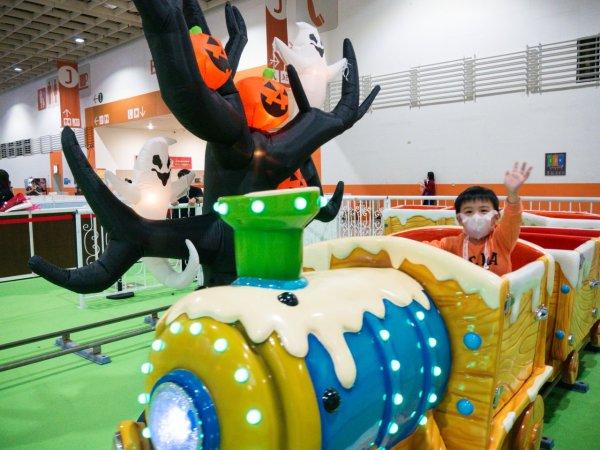 萬聖節,itf,台北國際旅展,旅展,親子,親子體驗,遛小孩,優惠,餐券,住宿券,吉祥物大遊行