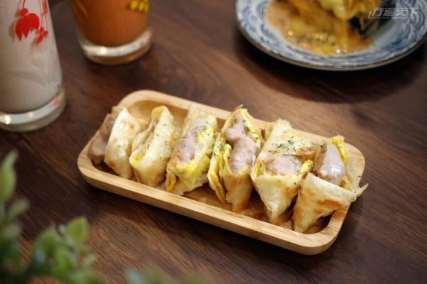 台中,魚吃土, 爆漿美食,土石流三明治,早午餐