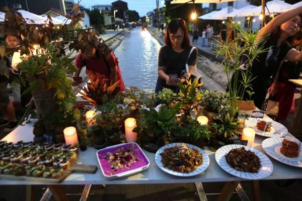 飛雀餐桌行動,蒔秧苗文化,高雄美濃,水圳,產地餐桌,在地食材