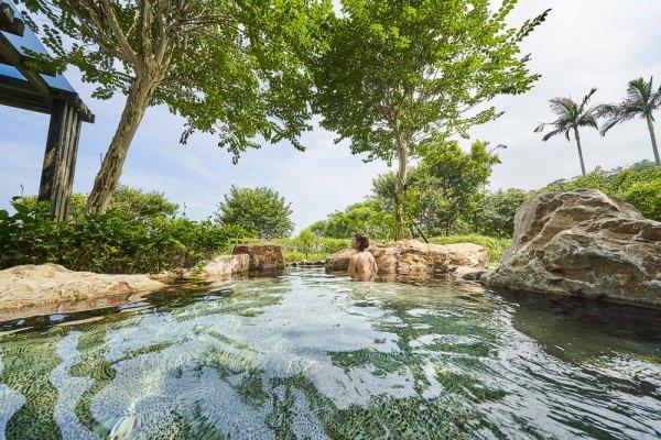 礁溪,礁溪老爺,溫泉,泡湯,露天風呂,洞天風呂,金棗,鴨胸,櫻桃鴨,裸湯,戶外裸湯