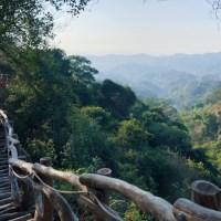 台中旅遊|蜿蜒天邊相思原木棧道 垂直天梯挑戰刺激極限