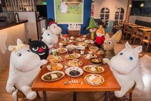 嚕嚕米,餐廳,姆明,兒童餐,免費