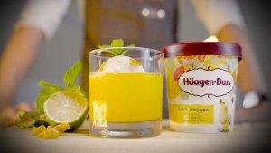 Häagen-Dazs,哈根達斯,夏日微醺,冰淇淋,調酒