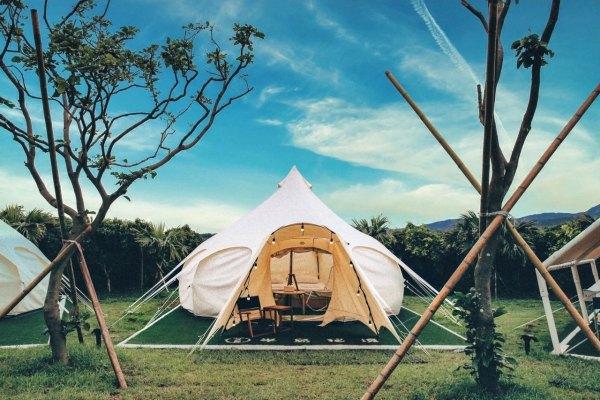 微解封,三級警戒,風景區,野奢露營,豪華露營