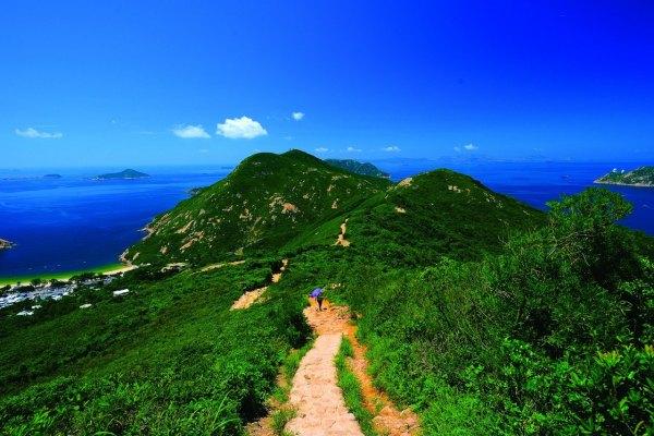 香港,坪洲,線上導覽,劉克襄,大帽山,龍脊,行山,麥理浩徑