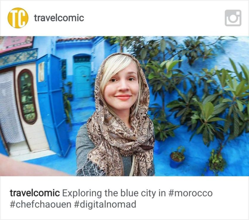 instagram travelcomic