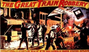 The Great Train Robbery Movie Poster