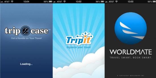 Trip Management App Logos