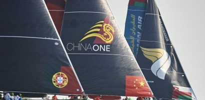 """""""Latające żaglówki"""", czyli Extreme Sailing Series ponownie w Portugalii"""