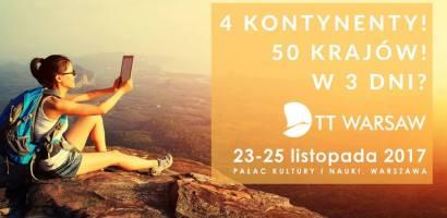 Wielkie święto turystyki – w najbliższy czwartek ruszają 25. Targi TT Warsaw