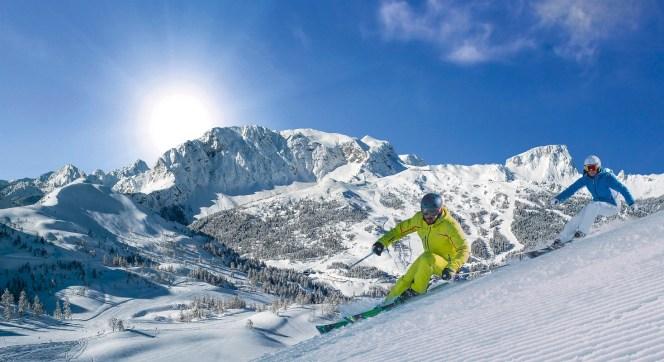 Austria, koniec sezonu narciarskiego w Nassfeld
