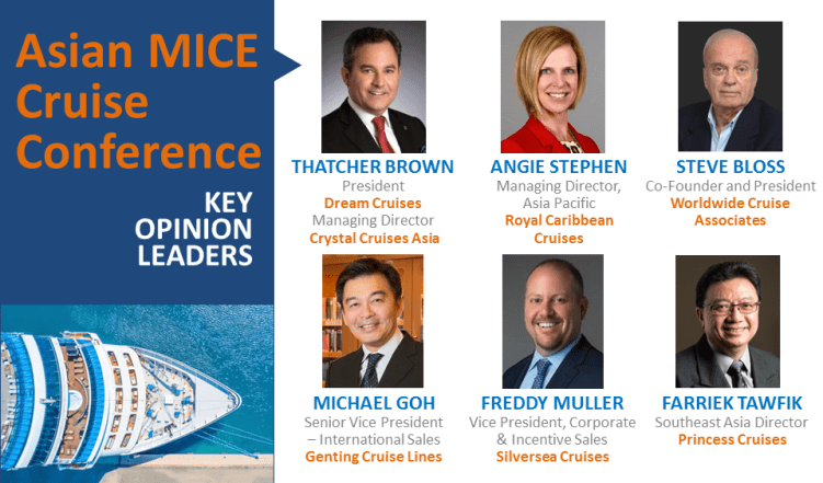 First Asian MICE Cruise Conference Launches At IT&CMA 2018