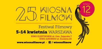 25. Festiwal Filmowy WIOSNA FILMÓW