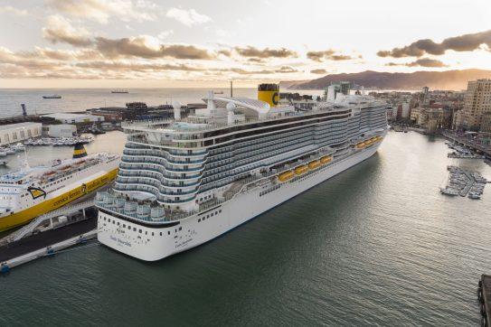 Costa Cruises prezentuje nowy statek i otwiera nowe przedstawicielstwo w Polsce