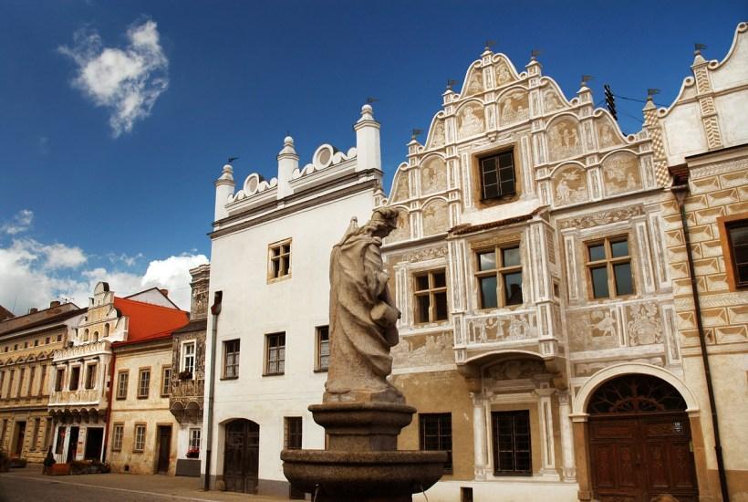 Czechy. Miejsca w których spotykają się granice państw i historycznych krain.